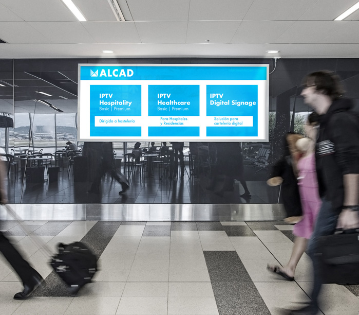 ALCAD DS, advanced digital signage for your business