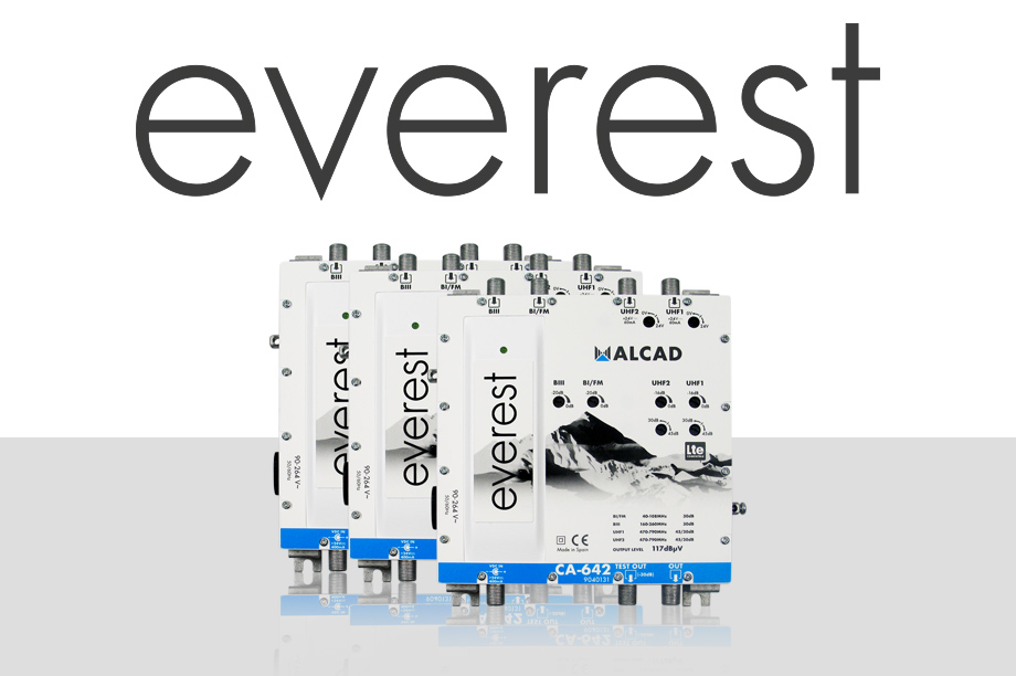 Everest by Alcad: the range of multiband amplifiers inspired by the top of the world