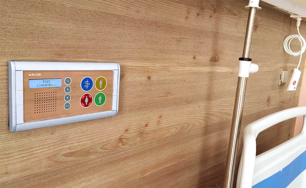 Customizable room terminals: designs that adapt to the needs of any hospital or nursing home