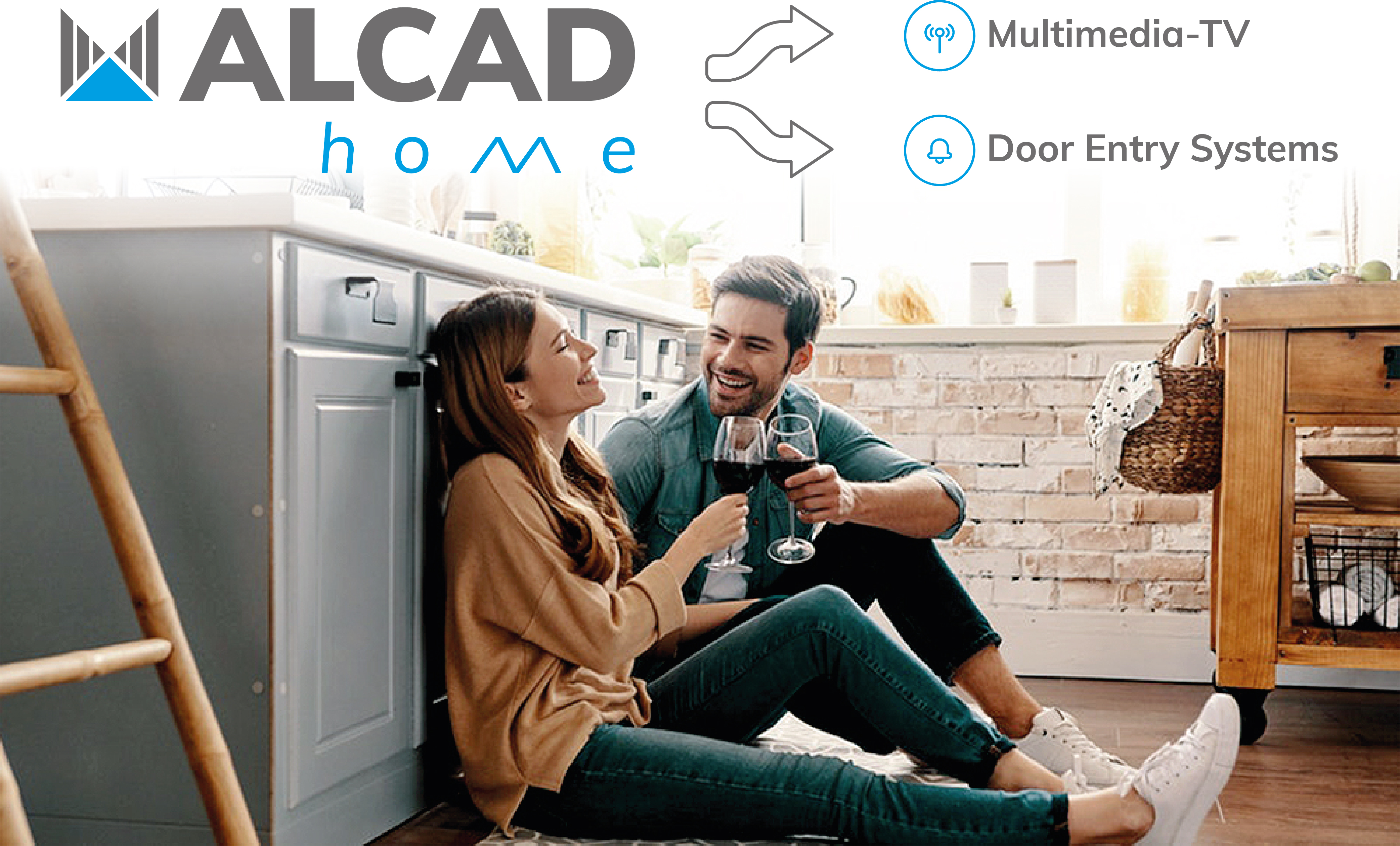 ALCAD Home: entertainment, security and telecommunications solutions in the field of home and housing of the future