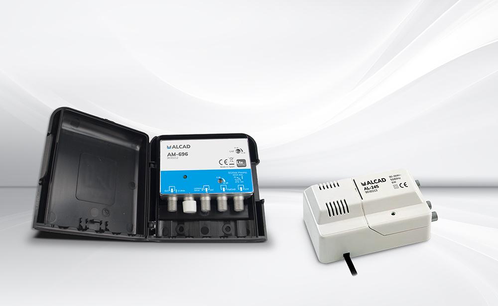 Amplificateurs de mât : nous ajoutons le signal satellite pour desservir les installations individuelles de télévision terrestre et satellite, numérique et analogique