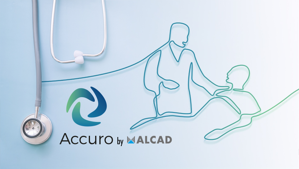 The new nurse call system by Alcad is called Accuro