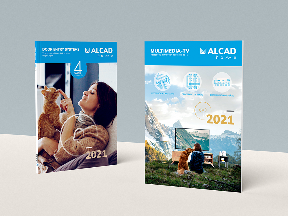 ALCAD Home launches its 2021 Door Entry Systems and Multimedia-TV tariffs and short-form catalogues