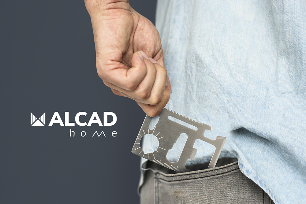 ALCAD Home: we thank you for trusting us with a practical pocket multipurpose tool