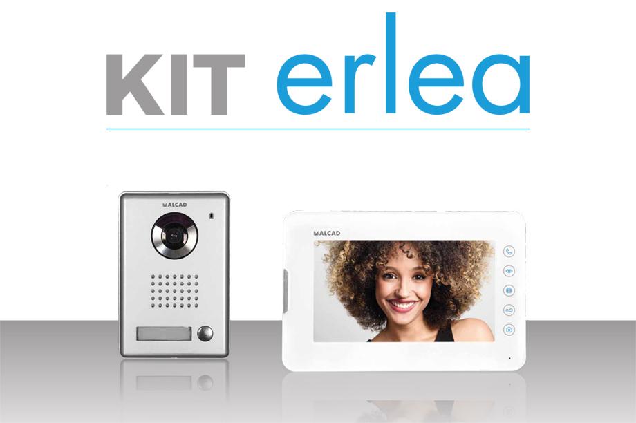 ERLEA, el nuevo Kit Villa videoportero 2 hilos con monitor 7 pulgadas